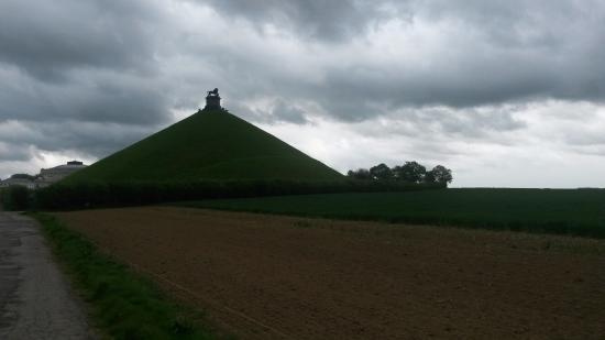 Waterloo, Bélgica: Panorama della collina del leone