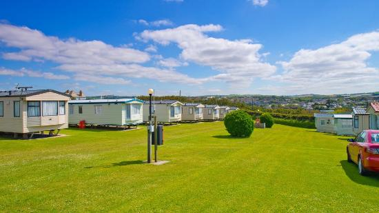 Upper Lynstone Camping and Caravan Park: Some of our static caravans