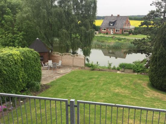 Landhaus Jagerhof: Room 8 - overlooking pond