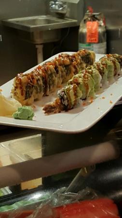 Somerset, Pensylwania: Beautiful sushi. A work of art!