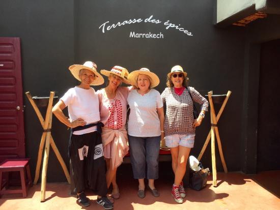Terrasse des Epices Marrakech médina 😊