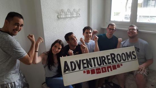 AdventureRooms Luzern: Team: Big Test Icicles, Golden jungle, 40 minutes of great fun!