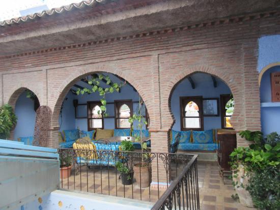 Hotel Riad Casa Hassan Restaurante Görüntüsü