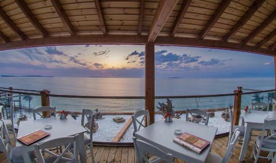 Peroulades, Grecia: Panorama Restaurant