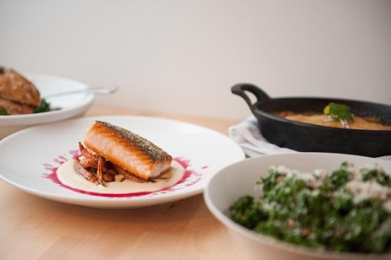 Beal House Inn: Salmon