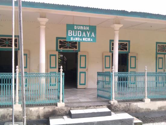 Banda Neira, Indonesien: bagian depan rumah budaya banda
