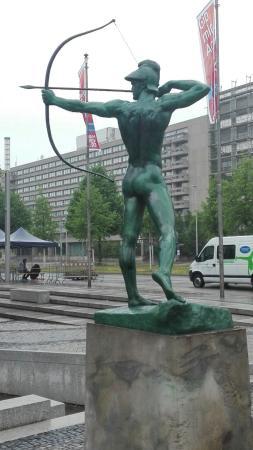 Denkmal Bogenschütze