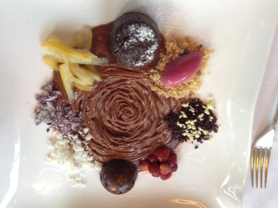 Jean Georges: chocolate, chocolate, chocolate!