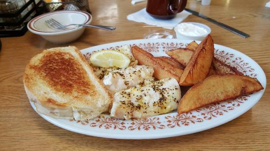 Wakefield, MI: the baked fish dinner