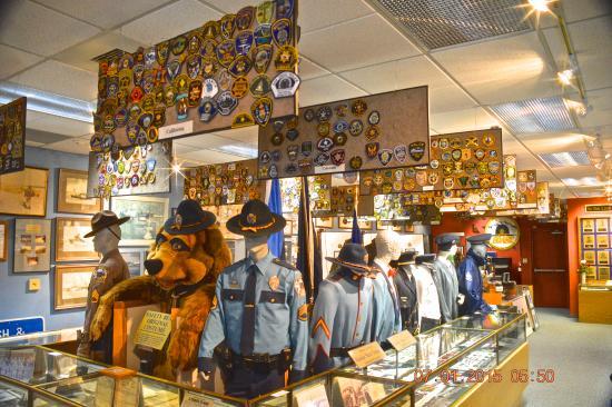 Alaska Law Enforcement Museum: Patches, uniforms