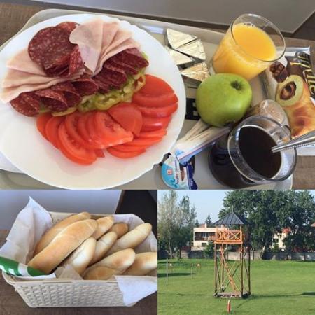 Trnava Region, Slowakei: Raňajky