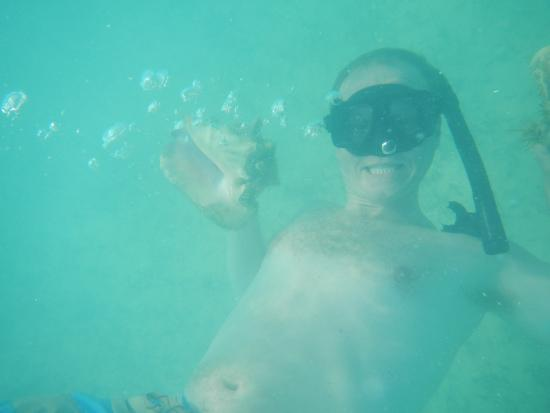 North Caicos: Catchin' Conch!