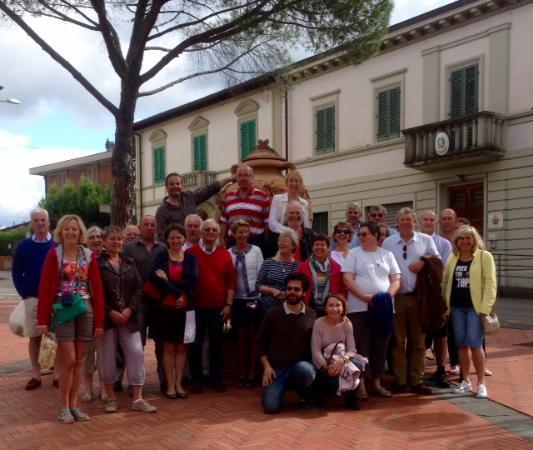 Strada in Chianti, Italia: Visita con agricoltori Nord Francia