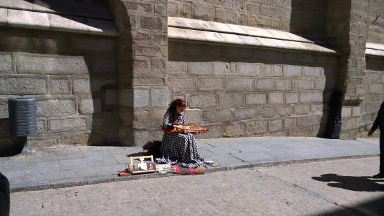Province of Toledo, Spain: Cantores no entorno da igreja.