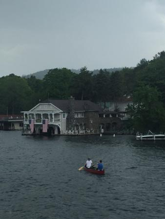 Boathouse Bed and Breakfast A Lake Castle Estate on Lake George照片