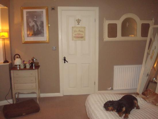 Kirkby Fleetham, UK: Shergar room
