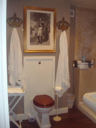 Kirkby Fleetham, UK: Shegar bathroom