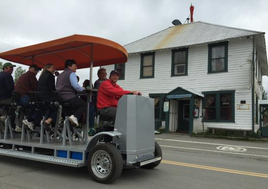 Talkeetna Pedal Bus