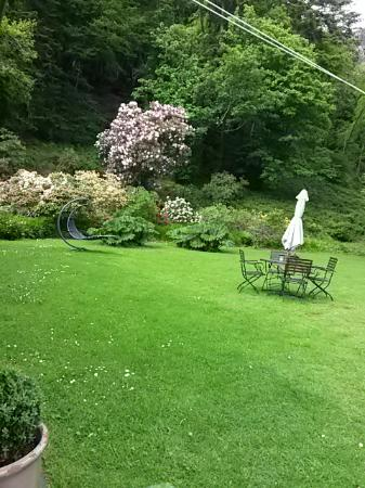 Plas Tan-Yr-Allt Historic Country House: Back garden