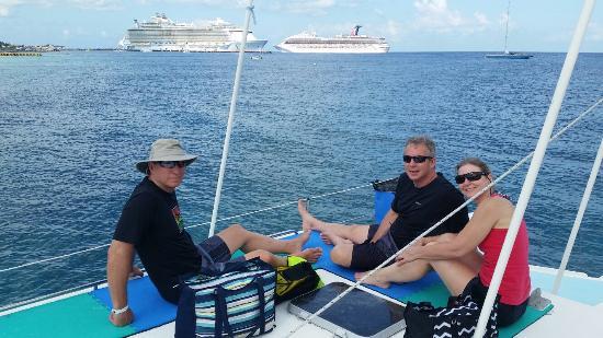 FE Catamaran Sail and Snorkel Cozumel: Great snorkeling day!