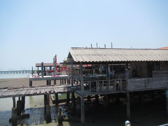 Lanta Old Town: coté mer