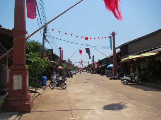 Lanta Old Town: coté rue