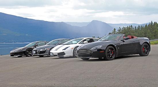 Choose From A Lamborghini Gallardo Ferrari F430 Audi R8 And An
