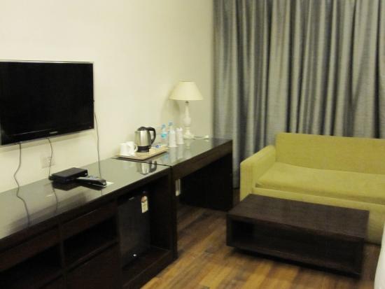 Hotel Africa Avenue: Chambre confortable