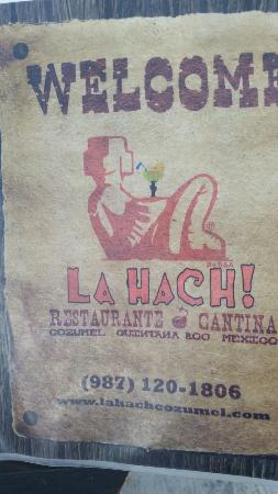 La Hach Restaurante-Cantina: 20160526_134949_large.jpg