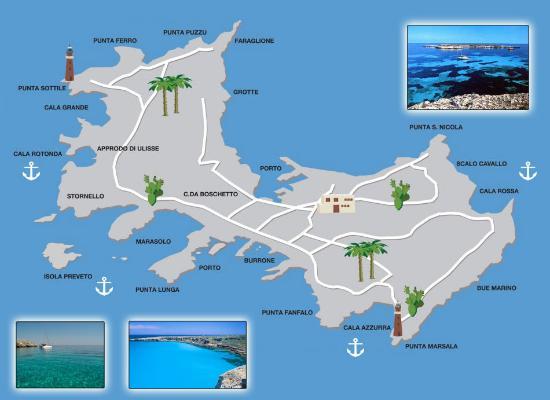 Isola di Favignana Picture of Dugongo Tours Trapani TripAdvisor