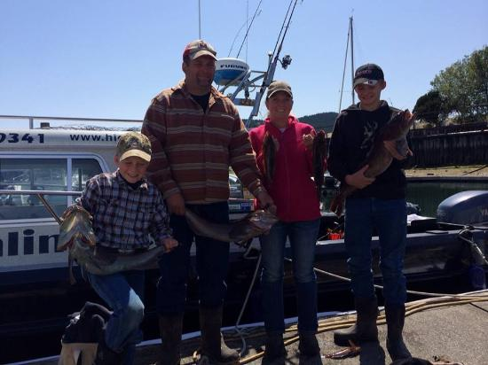 Anacortes, WA: Our family ling cod fishing May 2016