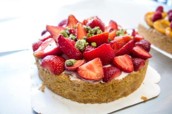 La Tartentière : Tarte aux fraises