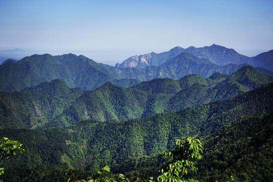 Jing County, China: 100km2 nature reserve. hope it stays that way