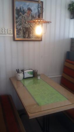 Salla, Finland: Удобные диванчики