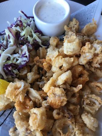 Blaine, WA: Calamari rings...yum