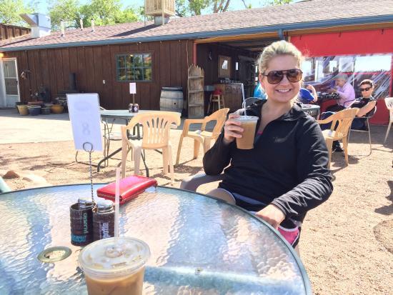 Coyote's Coffee Den: great breakfast!