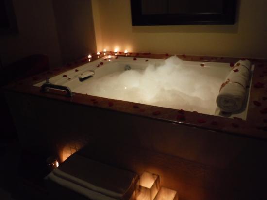 Bath prepared by Yolanda (turn down service) including