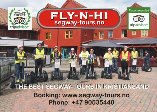 Kristiansand, Norway: FLY-N-HI SEGWAY TOURS