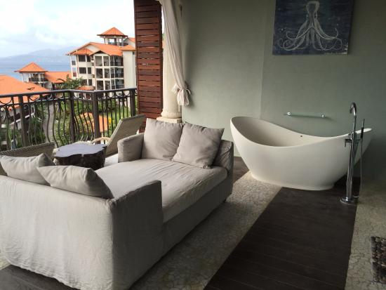 lounge chairs couch bed tub on balcony picture of sandals