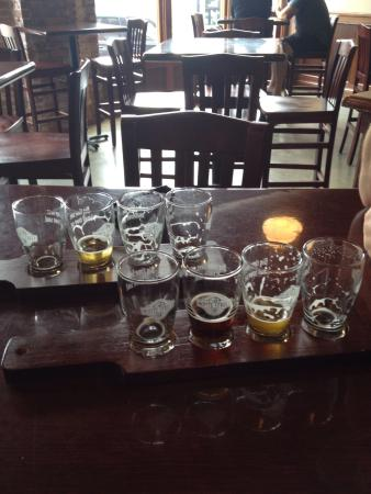 Wake Forest, NC: Empty flights! Just $6 for 4 glasses with 5oz pours.
