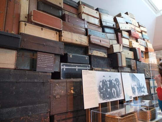 Japanese American National Museum: 展示。