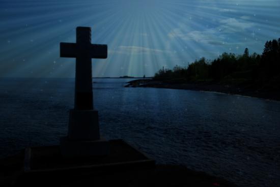Schroeder, MN: Father Baraga's Cross