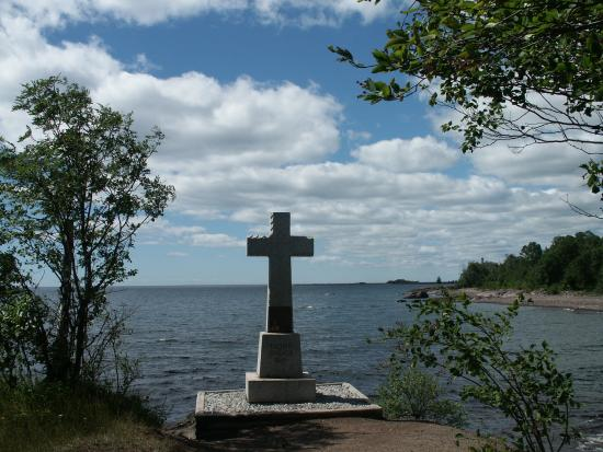 Schroeder, MN: Father Baraga's Cross