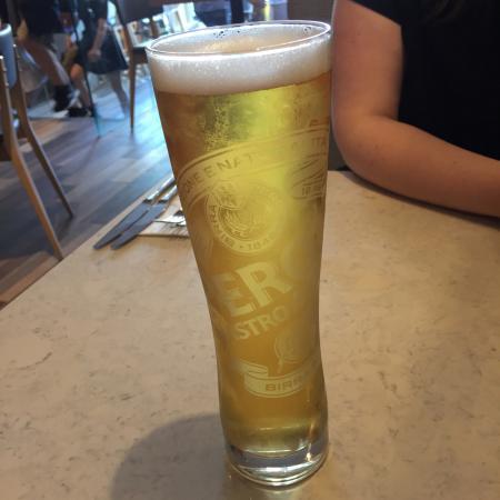 refreshing pint of peroni lager picture of prezzo warrington