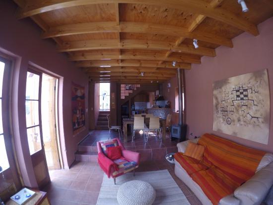 Casa Solcor Boutique Bed & Breakfast: Living Comedor casa 2