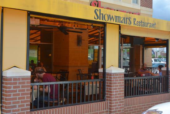 Denver, Северная Каролина: Looking into the Patio Area