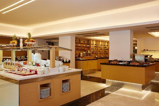 Lindos Mare Hotel: Estia Restaurant