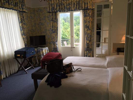 Brenners Park-Hotel & Spa: Corner room on 4th floor.