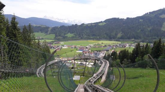 Flachau, Austria: Rodelbahn Lucky Flitzer