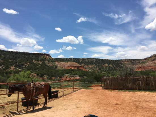 Old West Stables: corral